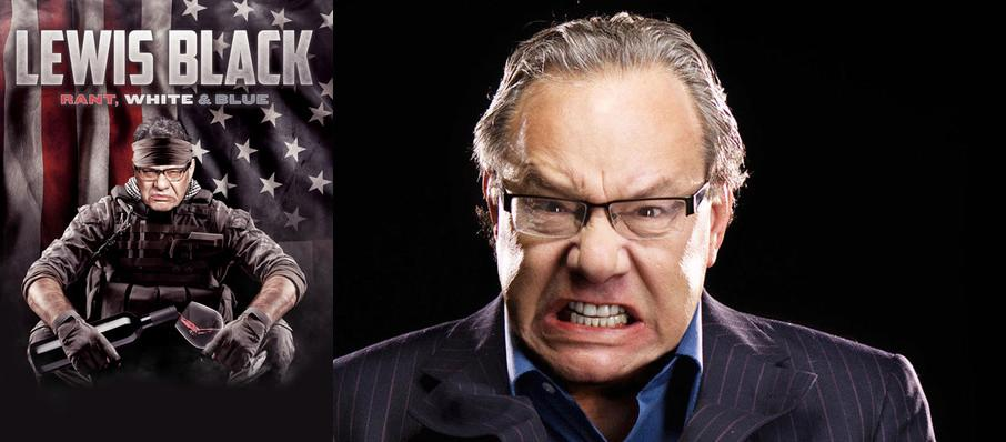 Lewis Black at Jack Singer Concert Hall