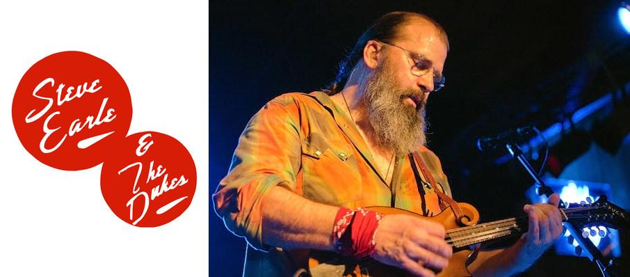 Steve Earle at Southern Alberta Jubilee Auditorium