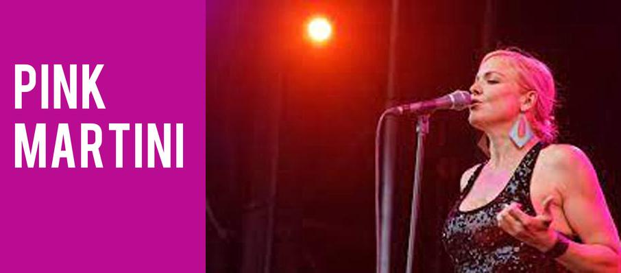 Pink Martini at Jack Singer Concert Hall