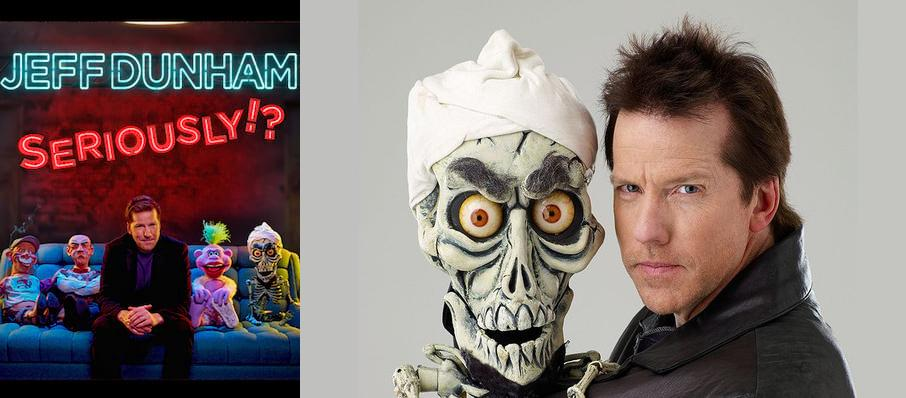 Jeff Dunham at Grey Eagle Resort & Casino