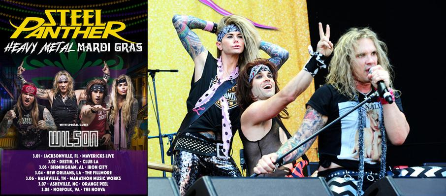 Steel Panther at Deerfoot Inn And Casino