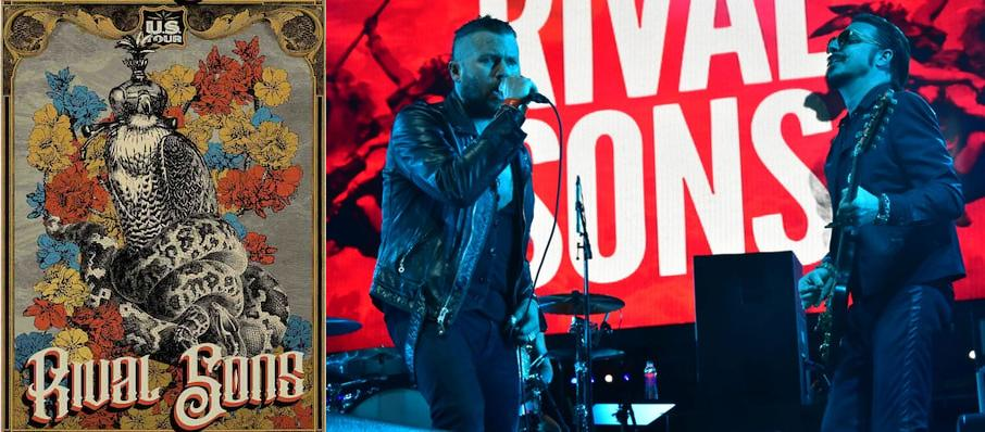 Rival Sons at Flames Central