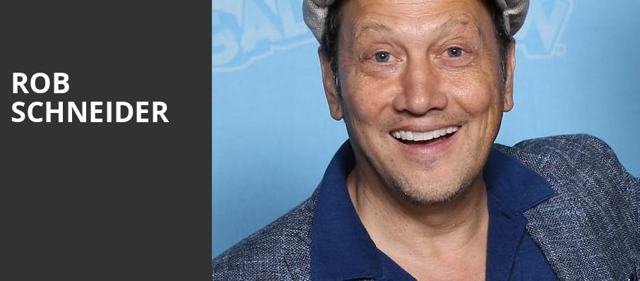 Rob Schneider, Deerfoot Inn And Casino, Calgary