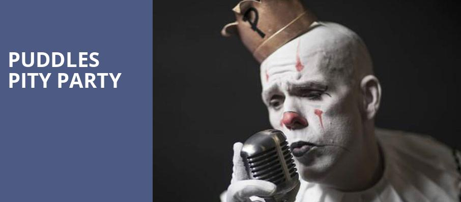 Puddles Pity Party, Bella Concert Hall at Mount Royal University, Calgary