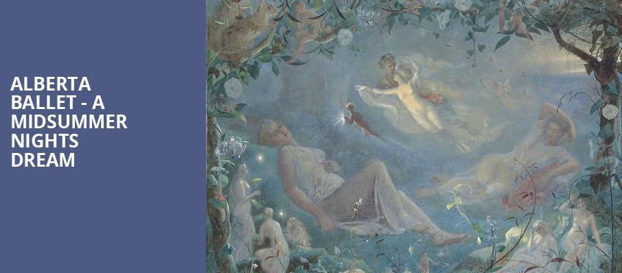 Image result for alberta ballets midsummer night's dream logo
