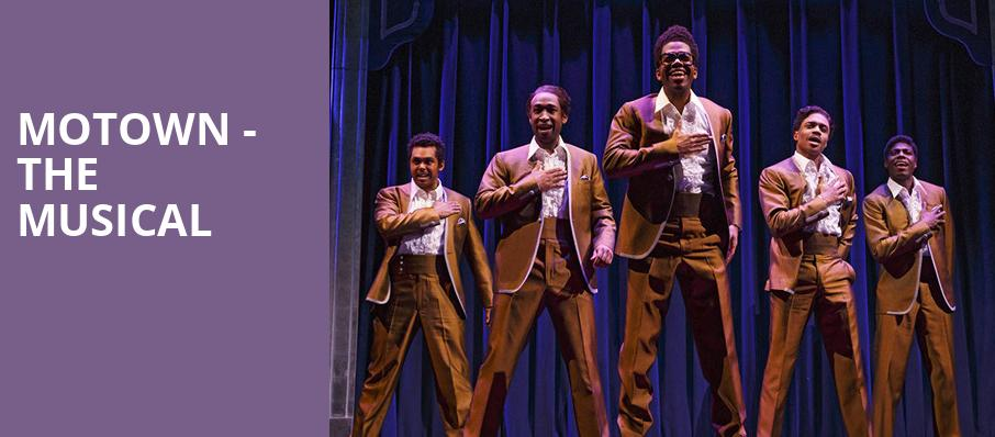 Motown The Musical, Southern Alberta Jubilee Auditorium, Calgary